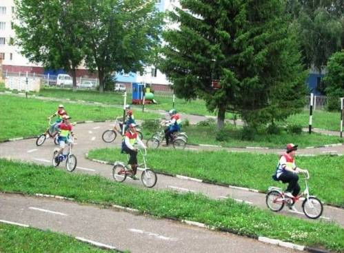 Программа «Юный велосипедист»
